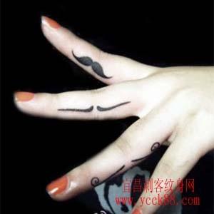 女生手指纹身小图案 贴报图片大全 女生手指纹身小图案高清图片