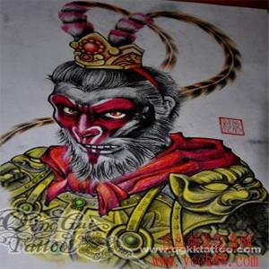 孙行者纹身图案图片